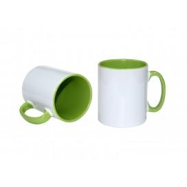 10oz Inner Rim Color Mug(Light Green) (36/case)