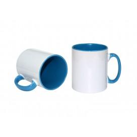 10oz Inner Rim Color Mug(Light Blue) (36/case)