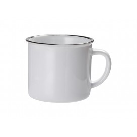 10oz/300ml Ceramic Enamel Mug (Black)(36/pack)