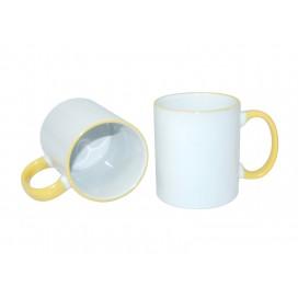 11oz Rim Handle Mug-Yellow(36/case)