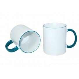 11oz Rim Handle Mug-Green(36/case)