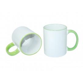11oz Rim Handle Mug-Light Green(36/case)