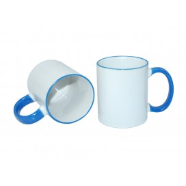 11oz Rim Handle Mug-Light Blue(36/case)