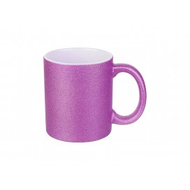 11oz/330ml Glitter Mug (Rose Red) (36/pack)