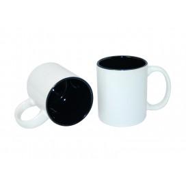 11oz Two-Tone Color Mugs-Black(36/case)