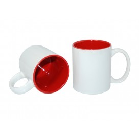 11oz Two-Tone Color Mugs-Red(36/case)