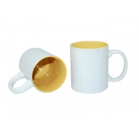 11oz Two-Tone Color Mugs-Yellow(36/case)