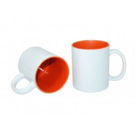 11oz Two-Tone Color Mugs-Orange(36/case)