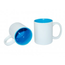 11oz Two-Tone Color Mugs-Light Blue(36/case)