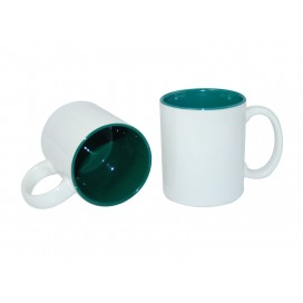 11oz Two-Tone Color Mugs-Green(36/case)