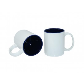 11oz Two-Tone Color Mugs-Blue(36/case)