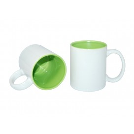 11oz Two-Tone Color Mugs-Light Green(36/case)