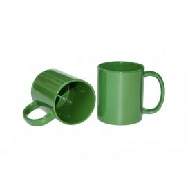 11oz/330ml Full Middle Green Color mug w/ UV Coating(10/pack)
