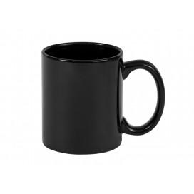 11oz/330ml Full Black Color mug w/ UV Coating(10/pack)