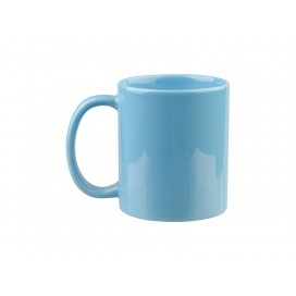 11oz Full Color Mug(Glossy, Light Blue) (36/pack)