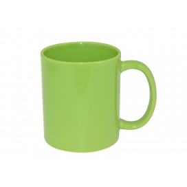11oz Full Color Mug(Glossy, Light Green) (36/pack)