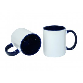 11oz Inner Rim Color Mug-Blue(36/case)