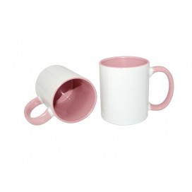 11oz Inner Rim Color Mug-Pink(36/case)