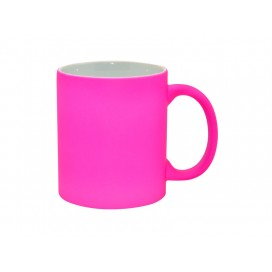 11oz Fluorescent Mug(Frosted, Purple Red)(36/case)