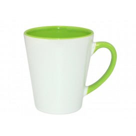 12oz Inner Rim Color Mug-Light Green(36/case)