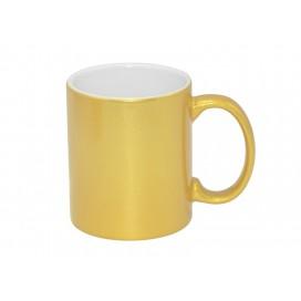 11oz Gold Mug (36/case)
