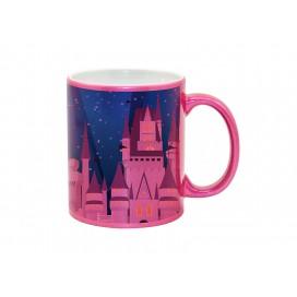 11oz Sparkling Mug(Purple Red)(36/pack)