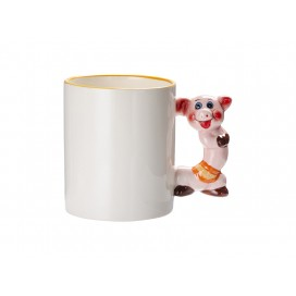 11oz Animal Mugs-Pig with Box(48/pack)