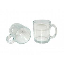 11oz Clear Glass Sublimation Mug (36/case)