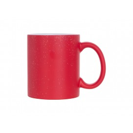 11oz Color Changing Mug(StarSky Red,matt) (36/case)