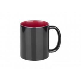 11oz Black Color Changing mug (Inner Maroon)(48/pack)