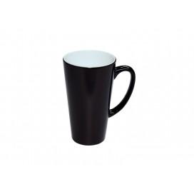 17oz Cone Shape Black Color change Mug (24/case)