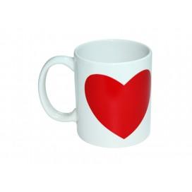 11oz Heart color change mug(36/pack)