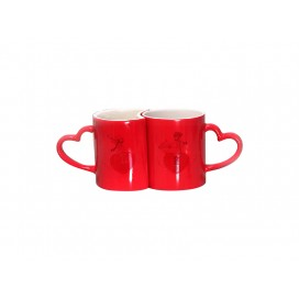 11oz Couple Changing Color Mugs(Red) (36/case)