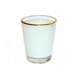 1.5oz Shot Glass Mug with Gold Rim (144/case)