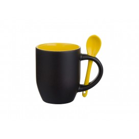 11oz Changing Color Spoon Mug(Yellow) (36/pack)