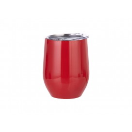12oz Stainless Steel Wine Cup (Red) (25/carton)