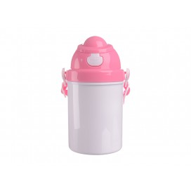 400ml Sublimation Kid Bottle  (Pink)  (48/pack)