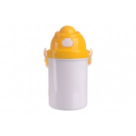 400ml Sublimation Kid Bottle (Yellow) (48/pack)
