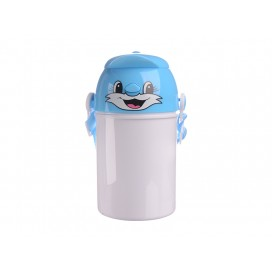 400ml Sublimation Kid Bottle 03(Blue) (48/pack)