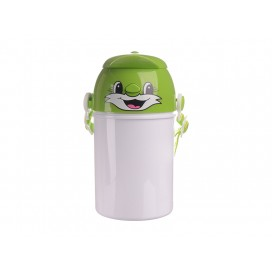 400ml Sublimation Kid Bottle 03(Green) (48/pack)