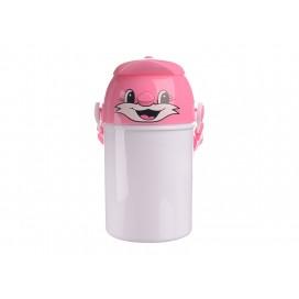 400ml Sublimation Kid Bottle 03(Pink) (48/pack)