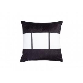 """Sublimation 3 Panel Plush Pillow Cover (40*40cm/15.75""""x15.75"""")"""