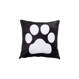 "5 Footprint Panel Pillow Cover(40*40cm/15.7""x15.7"", Plush)"