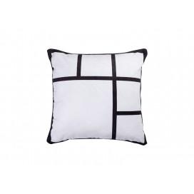 """Sublimation 6 Panel Plush Pillow Cover (40*40cm/15.75""""x15.75"""")"""