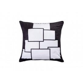 """Sublimation 8 Panel Plush Pillow Cover (40*40cm/15.75""""x15.75"""")"""
