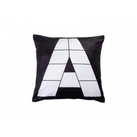 """Sublimation 9 Panel Plush Pillow Cover (A-Shape, 40*40cm/15.75""""x15.75"""")"""