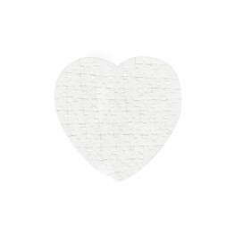 75 Pieces Heart Shape Felt Puzzle(10/pack)