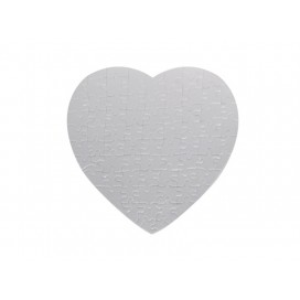 Magnetic Heart Sublimation Puzzle(10/pack)