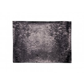 Flip Sequins Adhesive (Rect, Black W/ White) (10/pack)