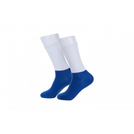 Sublimation Athletic Socks (Blue Sole) (10/pack)